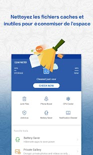 Clean Master (Boost Antivirus) Capture d'écran