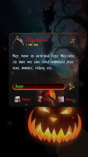 (FREE) HALLOWEEN NIGHT THEME Screenshot