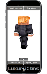 Skin Donald Trump for MCPE - náhled
