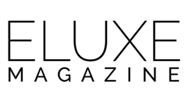 ELuxe Magazine Logo White Background