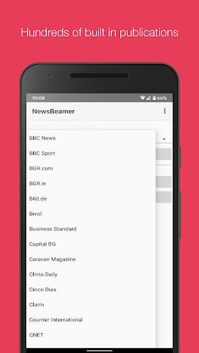 Newsbeamer screenshots 3