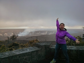 Photo: First stop on the Big Island, Kilouea volcano!