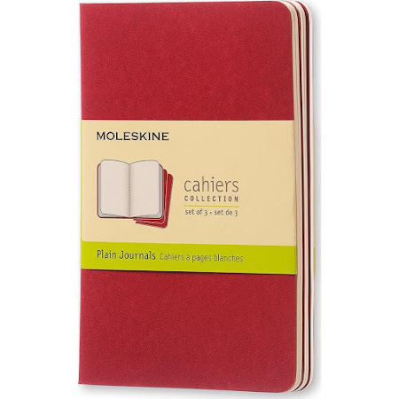 Cahier Journal Pocket Red