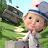 Masha and the Bear: Free Animal Games for Kids logo