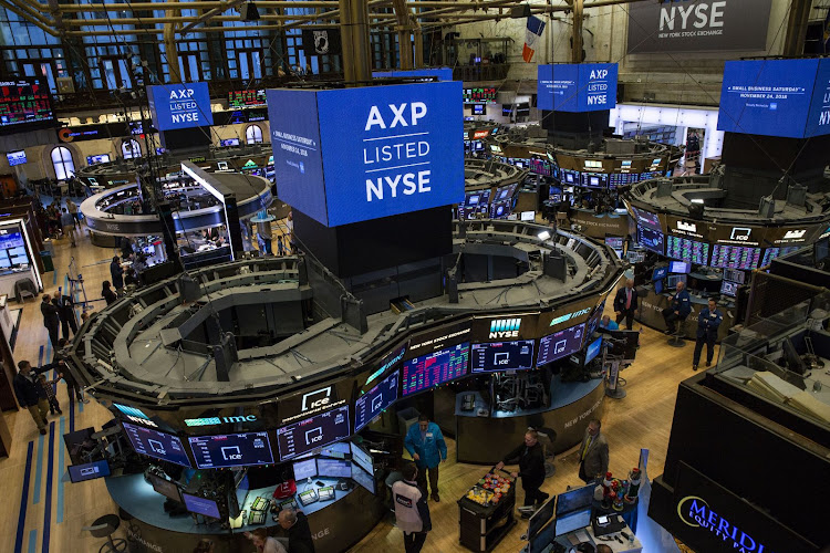 Traders work on the floor of the New York Stock Exchange in New York, the US, on November 23 2018. Picture: GRISELDA SAN MARTIN/BLOOMBERG