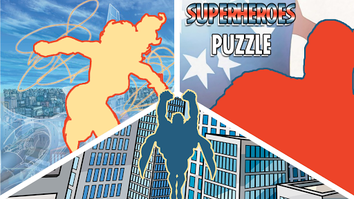Superheroes Puzzles - Wooden Jigsaw Puzzles android2mod screenshots 3