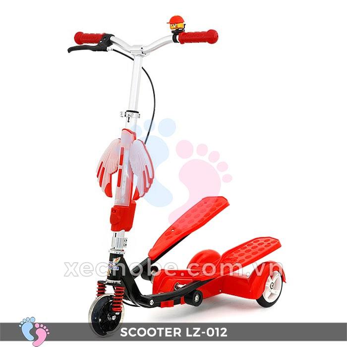 Xe trượt Scooter đạp chân LZ-012 có đèn, nhạc 8