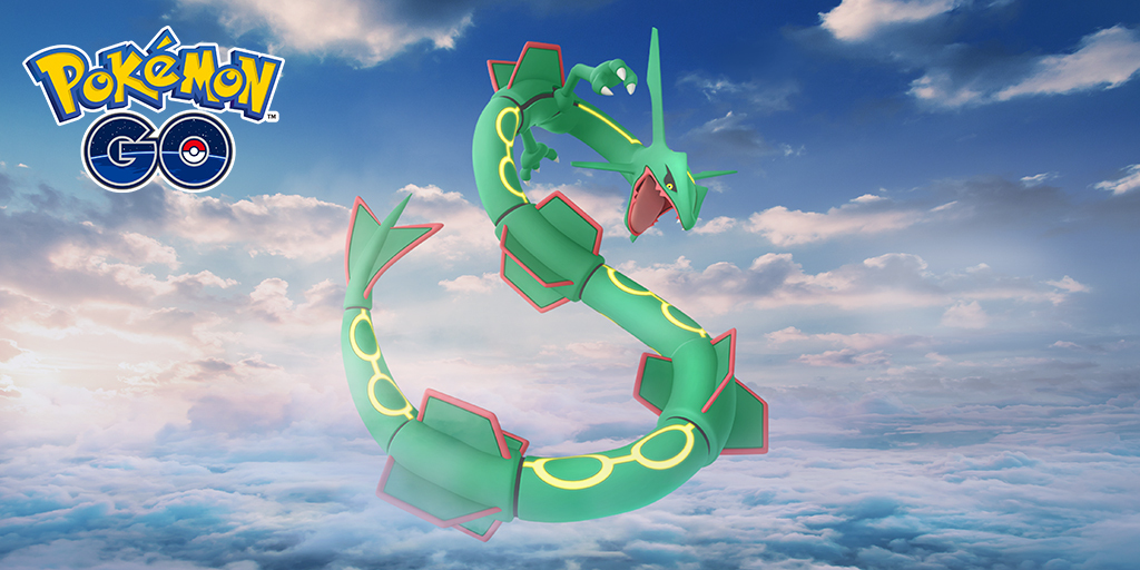 Rayquaza returns to raids for a limited time!