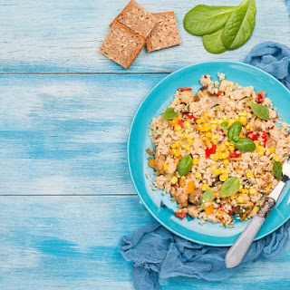 Quinoa with Corn and Basil Recipe