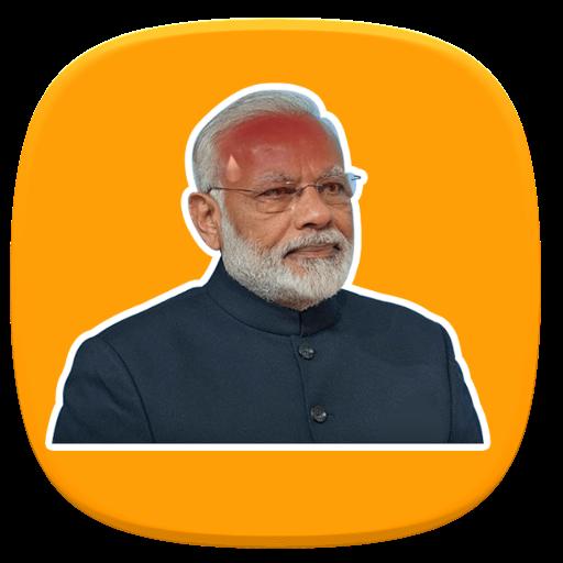 Modi (NaMO) and BJP Sticker Pack for Whatsapp