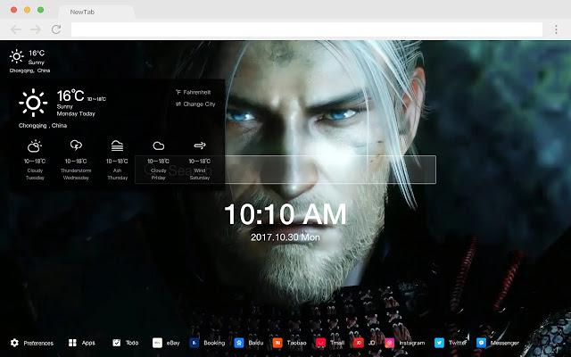 NIOH Pop Wallpaper HD Games New Tabs Theme