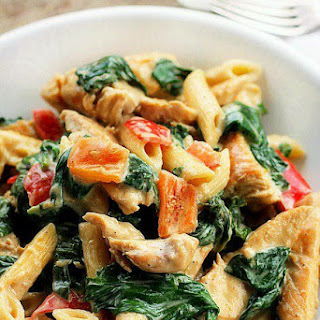 Cheesy Chicken and Pasta Recipe
