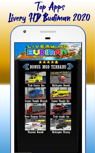 Livery HD Budiman 2020 1.0 screenshots 2
