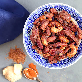 Sweet & Spicy Ginger Nuts (Gluten-free, Plant-based, Refined Sugar-free).
