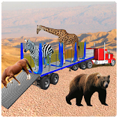 Zoo Animals Transport Jurassic wild