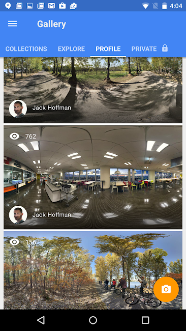 #4. Google Street View (Android)