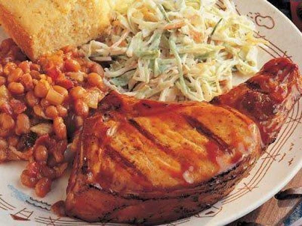 Heartland Barbecued Pork Chops Recipe