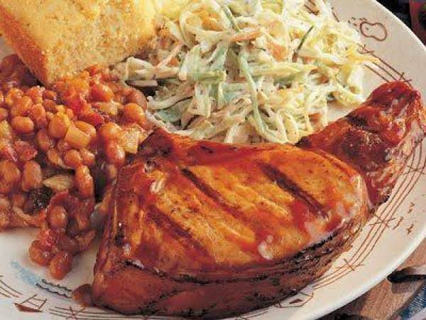 Heartland Barbecued Pork Chops Recipe