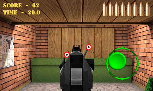 Pistol shooting at the target.  Weapon simulator 4.0 screenshots 4