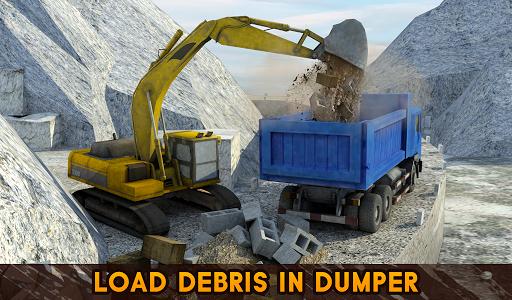 Hill Excavator Mining Truck Construction Simulator 1.2 screenshots 11