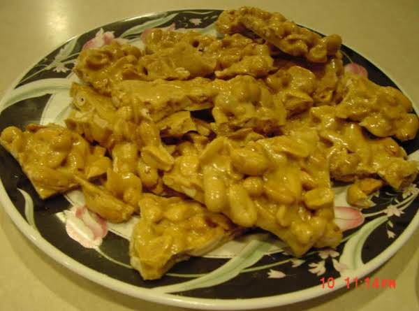 Quick And Easy Peanut Brittle (microwave)