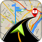 GPS Route Finder City Guide icon
