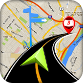 hors ligne GPS Terre carte circulation application