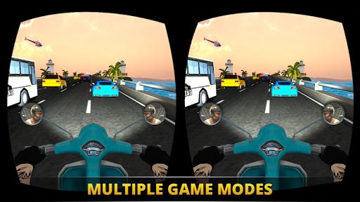 VR Ultimate Traffic Bike Racer 3D  screenshots 11