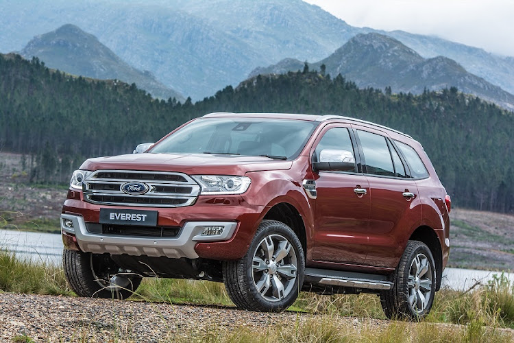 The Ford Everest 2.2 XLT still has some attitude. Picture: QUICKPIC