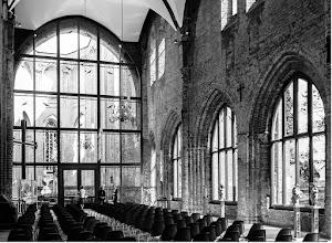 Photo: die Ruine der Schloßkirche Dargun ist jetzt ein Konzertsaal
