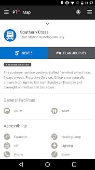 Public Transport Victoria app