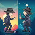 Spot the differences - 250 Levels Free Family Game icon