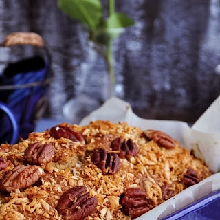 Toasted Coconut Banana Bread with Pecans Recipe