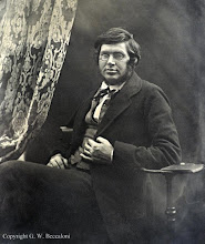Photo: Alfred Russel Wallace in 1853 or 1854. From an ambrotype in a private collection. Photographer: Unknown. Copyright of photo: G. W. Beccaloni.