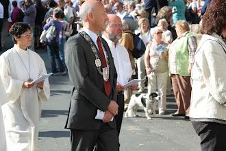 Photo: Fejring af Hildegard - Borgmesteren deltager også