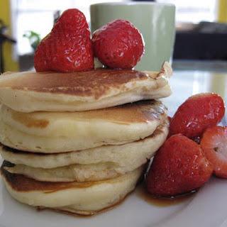 Irish Buttermilk Pancakes