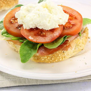 Cottage Cheese & Prosciutto Roll