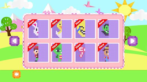 Mirror Mosaic : Symmetry Puzzles apkpoly screenshots 2