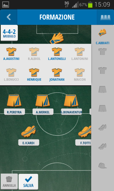 Mister Calcio Cup- screenshot