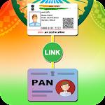 Aadhar Card Link with Pan Card Icon