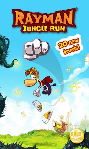 Rayman Jungle Run  screenshots 1