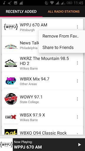 Pennsylvania Radio Stations - USA 2.0.1 screenshots 4