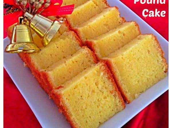 Modified Version Of Traditional Pound Cake Recipe