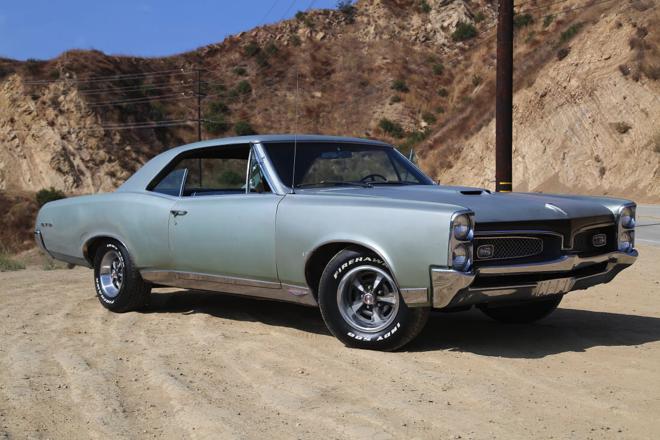 1967 Pontiac GTO Hire CA
