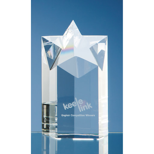 Crystal Star Column Awards for Engraving