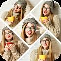 Auto Collage Photo Grid Maker , Pics Frame Editor icon