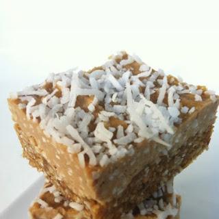Raw Vegan Banana Coconut Cream Pie Squares