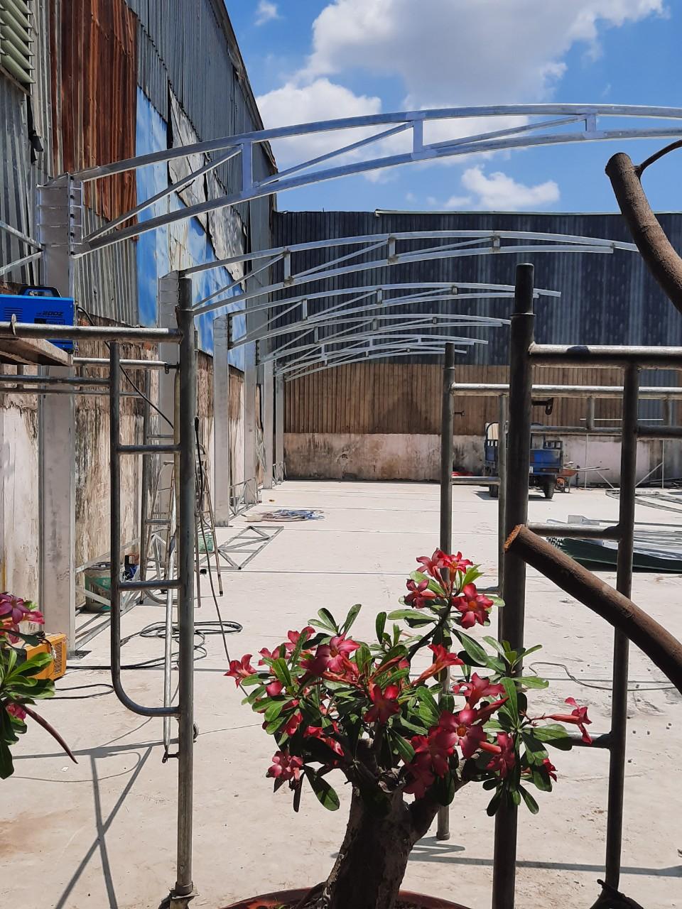 Xây dựng bãi đậu xe ô tô xe du lịch