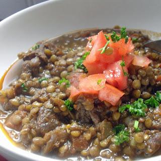 Beef Lentil Stew