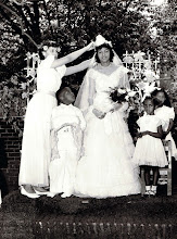 Photo: May Procession Court_ Joan Penn-May Queen_St Cyprian Parish